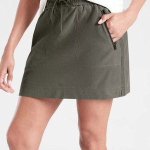 [ATHLETA]  Farallon Skirt Cypress Green NEW